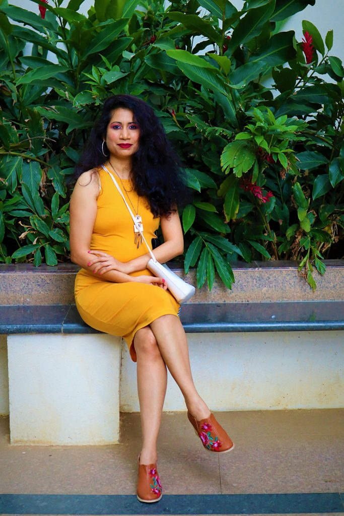 Fashion blogger Kashmira Lad